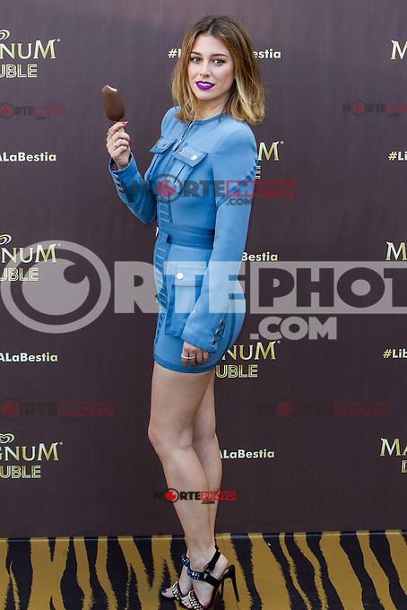 Blanca Suarez during the launch party for the new range of Magnum ice cream at  ME Hotel Reina Victoria. Jun 15,2016. (ALTERPHOTOS/Rodrigo Jimenez) /NortePhoto.com