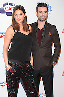 Dave Berry and Lisa Snowdon attending the Capital Radio Jingle Bell Ball 2014, at the O2, London. 07/12/2014 Picture by: Alexandra Glen / Featureflash