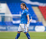 St Johnstone v Ross County...17.08.13 SPFL<br /> Stevie May celebrates his goal<br /> Picture by Graeme Hart.<br /> Copyright Perthshire Picture Agency<br /> Tel: 01738 623350  Mobile: 07990 594431