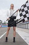 Fashion with Mirella , Adelaide 500 , on the Victoria park race track. Model Isobel Madsen.   Photo: Nick Clayton