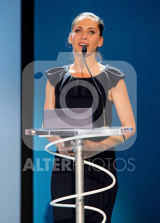 "Spanish actress Maria Leon Silver Shell for Best Actress for ""La voz dormida""  during the 59th San Sebastian Donostia International Film Festival - Zinemaldia.September 24,2011.(ALTERPHOTOS/ALFAQUI/Acero)"