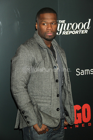 NEW YORK, NY - DECEMBER 11: 50 Cent at the Screening Of 'Django Unchained' at  the Ziegfeld Theater on December 11, 2012 in New York City.Credit: RW/MediaPunch Inc.
