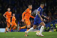 Leo Jaba of PAOK Salonika races upfield during Chelsea vs PAOK Salonika, UEFA Europa League Football at Stamford Bridge on 29th November 2018