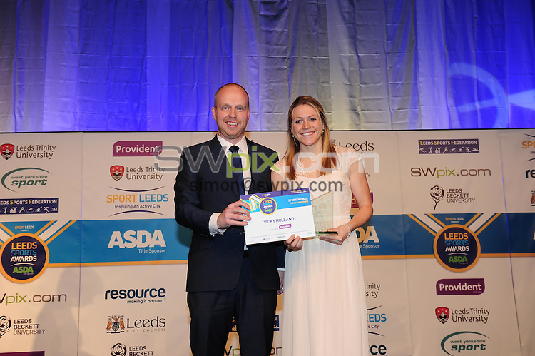 Picture by Simon Wilkinson/SWpix.com - 05/03/2015 - Leeds Sports Awards 2015<br />