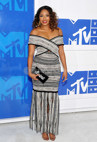 NEW YORK, NY - AUGUST 28:Alicia Quarles attend the 2016 MTV Video Music Awards at Madison Square Garden on August 28, 2016 in New York City Credit John Palmer / MediaPunch