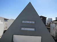 April 2 2014 New Orleans Louisiana. Nicholas Cage purchased the last side by side plots at the historic New Orleans' St. Louis Cemetery. The tomb is inscribed Omnia Ab Uno which means Everything from One MPIGolonka/Starlitepics