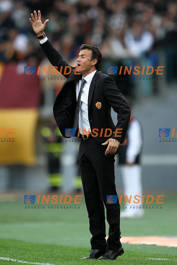 """Luis ENRIQUE Roma.Roma 23/10/2011 Stadio """"Olimpico"""".Football Calcio Serie A 2011/2012 .Roma Vs Palermo.Foto Insidefoto Andrea Staccioli"""
