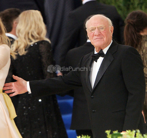 NEW YORK, NY May 01, 2017 Barry Diller attend  The Metropolitan Museum of Art Costume Institute Benefit Gala for Rei Kawakubo Comme des Garcons at  Metropolitan Museum of Art  in New York May 01,  2017. Credit:RW/MediaPunch