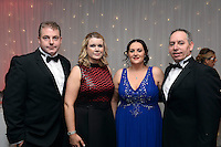 Pictured at the IHF Ball in the Muckross Park Hotel at the weekend wereDenis and Bernie O'Donoghue with Fiona and Denis Cronin.<br /> Photo: Don MacMonagle<br /> <br /> Repro free photo