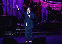 19 September 2017 - Hamilton, Ontario, Canada. Canadian pop and country singer-songwriter k.d. lang performs on stage during her Ingenue Redux Tour held at the FirstOntario Concert Hall.  Photo Credit: Brent Perniac/AdMedia