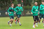 30.06.2020, Trainingsgelaende am wohninvest WESERSTADION,, Bremen, GER, 1.FBL, Werder Bremen Training, im Bild<br /> <br /> <br /> Joshua Sargent (Werder Bremen #19)<br /> Milot Rashica (Werder Bremen #07)<br /> <br /> <br /> Foto © nordphoto / Kokenge