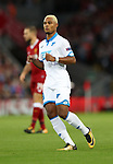 Serge Gnabry of Hoffenheim during the Champions League playoff round at the Anfield Stadium, Liverpool. Picture date 23rd August 2017. Picture credit should read: Lynne Cameron/Sportimage