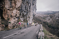 the race leaders<br /> <br /> 76th Paris-Nice 2018<br /> stage 6: Sisteron &gt; Vence (198km)