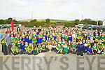 FINAL: Final call to Lisselton NS pon Wednesday as the pupils welcomed Tadgh Kennelly with the Sam Maguire Cup to their school. ..