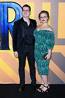 LONDON, ENGLAND - FEBRUARY 8: Carrie Hope Fletcher arrives at the 'Black Panther' European premiere at the Eventim Apollo, on February 8th, 2018 in London, England. <br /> CAP/JC<br /> &copy;JC/Capital Pictures