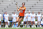 16 May 2015: Princeton's Anna Doherty. The Duke University Blue Devils hosted the Princeton University Tigers at Koskinen Stadium in Durham, North Carolina in a 2015 NCAA Division I Women's Lacrosse Tournament quarterfinal match. Duke won the game 7-3.