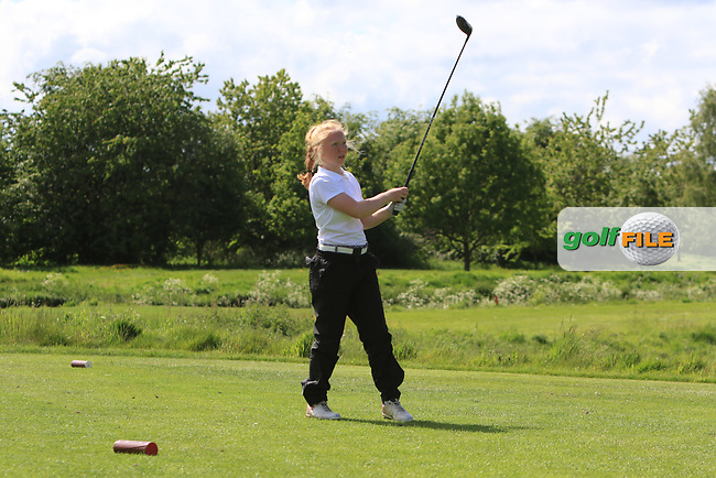 Rebekah Gardner (Carnalea) on the 15th tee during Round 4 of the Ulster Stroke Play Championships at Galgorm Castle Golf Club, Ballymena, Northern Ireland. 28/05/19<br /> <br /> Picture: Thos Caffrey / Golffile<br /> <br /> All photos usage must carry mandatory copyright credit (© Golffile | Thos Caffrey)