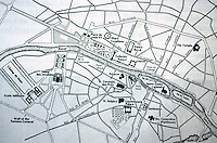 Paris: Plan of Paris, 1730-1789. Willis, WESTERN CIVILIZATION. Reference only.
