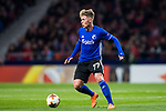 Viktor Fischer of FC Copenhague in action during the UEFA Europa League 2017-18 Round of 32 (2nd leg) match between Atletico de Madrid and FC Copenhague at Wanda Metropolitano  on February 22 2018 in Madrid, Spain. Photo by Diego Souto / Power Sport Images