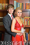 Pictured at the Castleisland Community College Debs at the Abbeygate Hotel, Tralee on Friday, from left: Donagh O'Connell and Shannon Hickey.