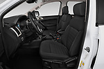 Front seat view of a 2019 Ford Ranger XLT 4 Door Pick Up front seat car photos