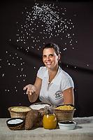 Empresária e Gourmet Daniela Martins herdou o talento culinário que vem de sua avó, Ana Maria Martins, no restaurante Lá em Casa.<br /> ©Carlos Borges