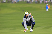 Dustin Johnson (USA) on the 6th green at Pebble Beach Golf Links during Saturday's Round 3 of the 2017 AT&amp;T Pebble Beach Pro-Am held over 3 courses, Pebble Beach, Spyglass Hill and Monterey Penninsula Country Club, Monterey, California, USA. 11th February 2017.<br /> Picture: Eoin Clarke | Golffile<br /> <br /> <br /> All photos usage must carry mandatory copyright credit (&copy; Golffile | Eoin Clarke)