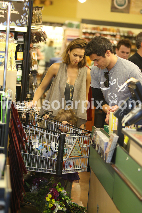 **ALL ROUND PICTURES FROM SOLARPIX.COM**                                             **SYNDICATION RIGHTS FOR UK, AUSTRALIA, DENMARK, PORTUGAL, S. AFRICA, SPAIN & DUBAI (U.A.E) & ASIA (EXCLUDING JAPAN) ONLY**                                                                                  Jessica Alba, Honor Marie and Cash Warren Go Shopping At Bristol Farms in Los Angeles on January 15, 2010                                                                    .This pic:    Jessica Alba, Honor Marie and Cash Warren                                                                                          JOB REF:    12669    PHZ       DATE:   15.01.11                                                         **MUST CREDIT SOLARPIX.COM OR DOUBLE FEE WILL BE CHARGED**                                                                      **MUST AGREE FEE BEFORE ONLINE USAGE**                               **CALL US ON: +34 952 811 768 or LOW RATE FROM UK 0844 617 7637**