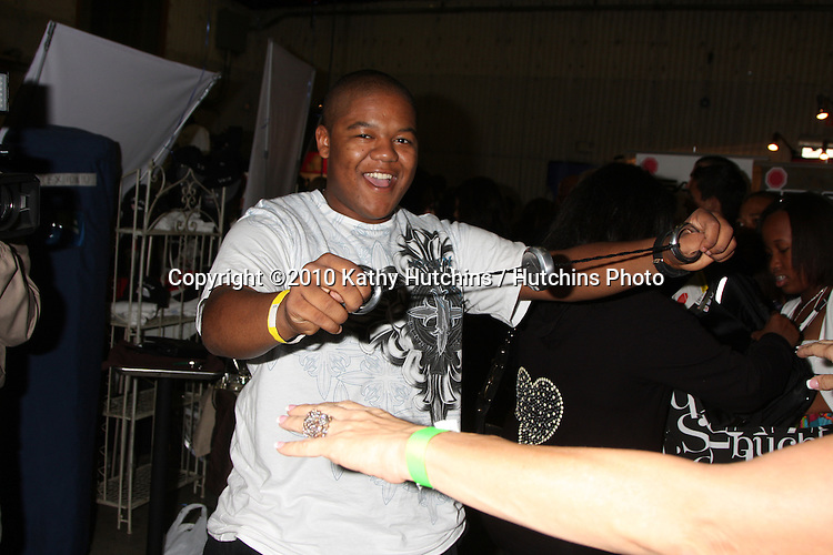 LOS ANGELES - NOV 20:  Kyle Massey at the Connected's Celebrity Gift Suite celebrating the 2010 American Music Awards at Ben Kitay Studios on November 20, 2010 in Los Angeles, CA