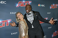 "LOS ANGELES - SEP 18:  Julianne Hough, Terry Crews at the ""America's Got Talent"" Season 14 Finale Red Carpet at the Dolby Theater on September 18, 2019 in Los Angeles, CA"