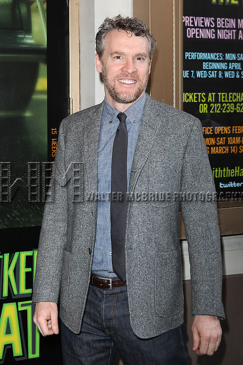 Tate Donovan.attending the Broadway Opening Night Performance  for 'The Mother F**ker with the Hat'  in New York City.