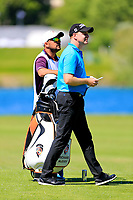Richard McEvoy (ENG) during the second round of the Lyoness Open powered by Organic+ played at Diamond Country Club, Atzenbrugg, Austria. 8-11 June 2017.<br /> 09/06/2017.<br /> Picture: Golffile | Phil Inglis<br /> <br /> <br /> All photo usage must carry mandatory copyright credit (&copy; Golffile | Phil Inglis)