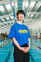 Picture by Rogan Thomson/SWpix.com - 08/12/2017 - Swimming - Team Bath Karen Bowen Feature -  Bath University, Bath, England - Portrait of Team Bath AS volunteer Karen Bowen.