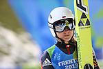 Irina Avvakumova  competes during the Normal Hill Ski Jumping event as part of the Winter Universiade Trentino 2013 on 14/12/2013 in Predazzo, Italy.<br /> <br /> &copy; Pierre Teyssot - www.pierreteyssot.com