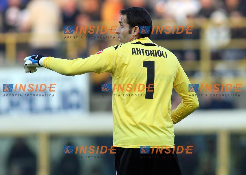 Bologna's Francesco Antonioli during their italian serie A soccer match at Dall'Ara Stadium in Bologna , Italy , February 21 , 2009 - Photo: Prater/Insidefoto ©