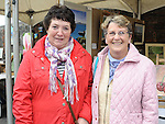 Breda Kennedy and Ann Loughran pictured at the Traditional day at Millmount Square. Photo: Colin Bell/pressphotos.ie