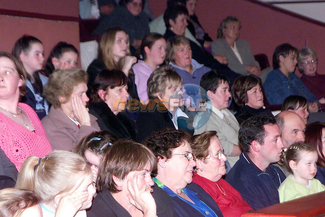 Part of the large crowd at the Scoil Mhuire na Trocaire Fashion Show in the Bohemian Centre, Ardee..Picture: Paul Mohan/Newsfile