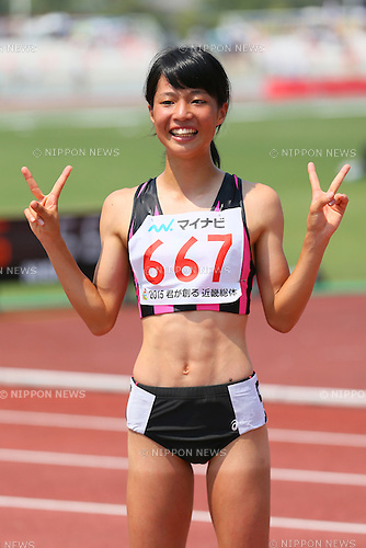 Chika Mukai (), <br /> AUGUST 1, 2015 - Athletics : <br /> 2015 All-Japan Inter High School Championships, <br /> Women's 800m Final <br /> at Kimiidera Athletic Stadium, Wakayama, Japan. <br /> (Photo by YUTAKA/AFLO SPORT)