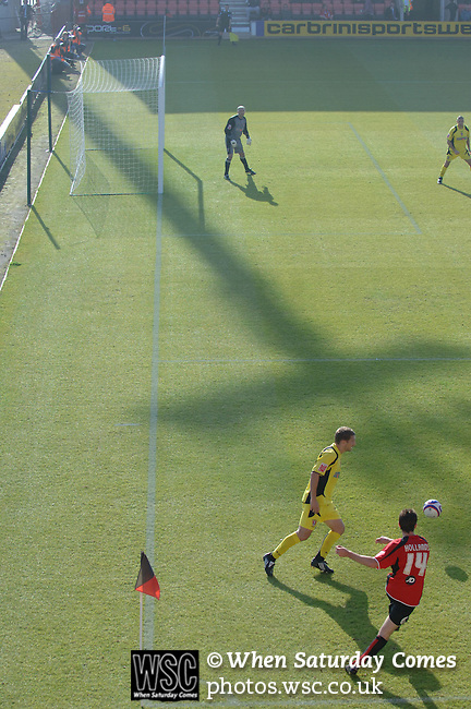 Bournemouth 0 Rotherham United 0, 11/10/2008. Fitness First Stadium, League Two. Photo by Simon Gill.