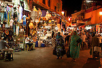 Entrance to Souk at Djemaa el-Fna, main square, Marrakesh, Morocco, market