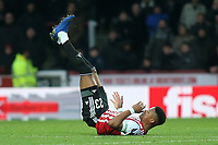Julian Jeanvier of Brentford during Brentford vs Oxford United, Emirates FA Cup Football at Griffin Park on 5th January 2019