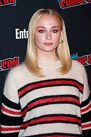 NEW YORK, NY - OCTOBER 6: Sophie Turner at In Conversation with Sophie Turner, Powered by Entertainment Weekly at New York Comic Con 2018 at Shop Studios in New York City on October 6, 2018. <br /> CAP/MPI99<br /> &copy;MPI99/Capital Pictures