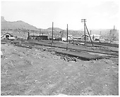 Construction of west end of new loop in Durango yard.<br /> D&amp;RGW  Durango, CO  Taken by Payne, Andy M. - 4/25/1968