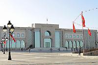 Tunisi, Gennaio 2015<br /> La Tunisia a 4 anni dalla rivoluzione che port&ograve; all'esilio il dittatore Ben Ali. <br /> Il Palazzo del Governo