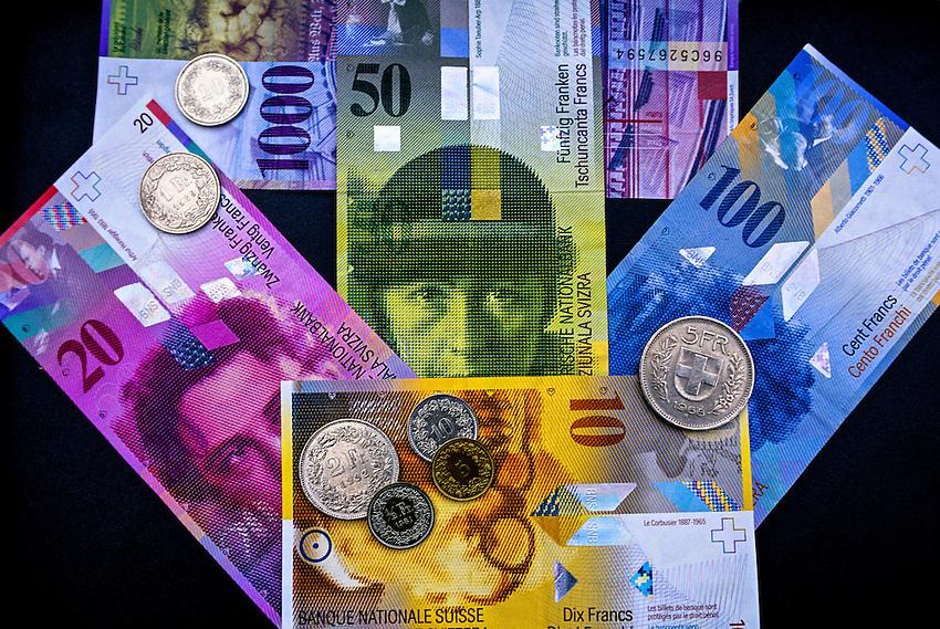 Swiss Money, Zurich, Switzerland