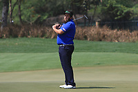 Andrew Johnston (ENG) in action on the 12th during Round 4 of the Hero Indian Open at the DLF Golf and Country Club on Sunday 11th March 2018.<br /> Picture:  Thos Caffrey / www.golffile.ie<br /> <br /> All photo usage must carry mandatory copyright credit (&copy; Golffile | Thos Caffrey)