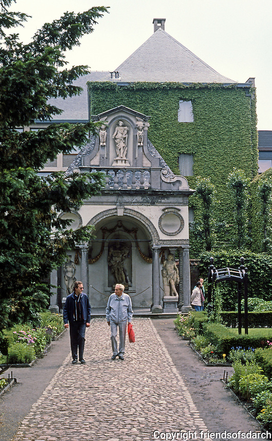 "Antwerp: Rubens House. Garden Pavilion ""conceived as a country temple"".  Photo '87."
