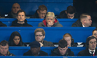 Arsenal Manager Arsene Wenger watches the match during the Carabao Cup semi final 1st leg match between Chelsea and Arsenal at Stamford Bridge, London, England on 10 January 2018. Photo by Andy Rowland.