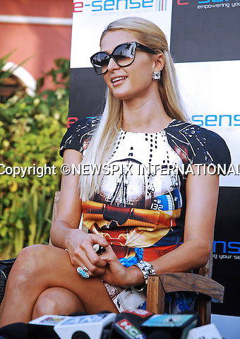 "01.12.2012; Goa: PARIS HILTON .at the pre-Indian Resort Fashion Week photocall..The American heiress and socialite acted as DJ at the closing of the annual Fashion Show held on Candolim Beach, Goa_01/12/2012.Mandatory Photo Credit: ©NEWSPIX INTERNATIONAL..**ALL FEES PAYABLE TO: ""NEWSPIX INTERNATIONAL""**..PHOTO CREDIT MANDATORY!!: NEWSPIX INTERNATIONAL(Failure to credit will incur a surcharge of 100% of reproduction fees)..IMMEDIATE CONFIRMATION OF USAGE REQUIRED:.Newspix International, 31 Chinnery Hill, Bishop's Stortford, ENGLAND CM23 3PS.Tel:+441279 324672  ; Fax: +441279656877.Mobile:  0777568 1153.e-mail: info@newspixinternational.co.uk"