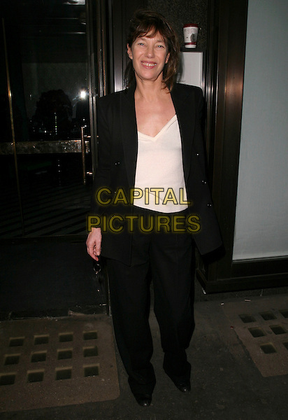 JANE BIRKIN.Alexandra Shulman's Pre-BAFTA Dinner, held at Ceccioni's, 5a Burlington Gardens, London, England, .17th February 2006..full length.Ref : AH.www.capitalpictures.com.sales@capitalpictures.com.©Adam Houghton/Capital Pictures.